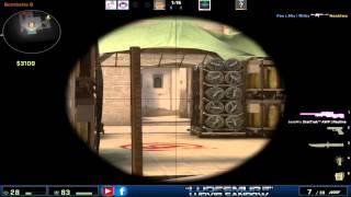 CS:GO 1V5 Awp Ace #1