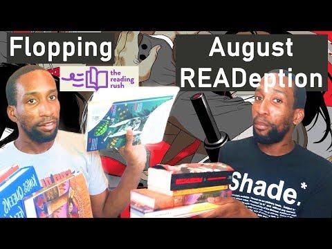 July Wrap Up: Reading Rush | August TBR: Mythathon & POCathon