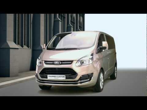 Ford Tourneo Custom Минивен класса M - рекламное видео 1