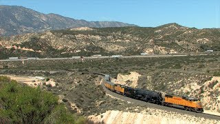 HD: UP 4014 On The Cima, Cajon, And Mojave Subdivisions In April 2014!