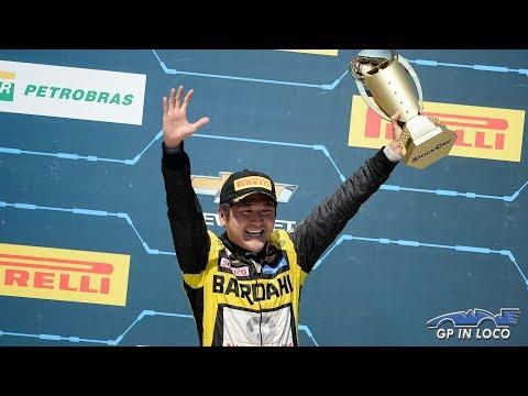 """GP in loco: Suzuki destaca """"uma das melhores corridas"""" e festeja pódio em Cascavel"""
