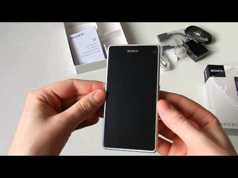 Unboxing: Sony Xperia Z1 compact weiss
