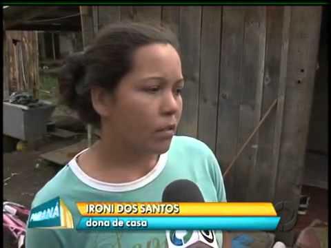 Granizo em Rebouças Paraná