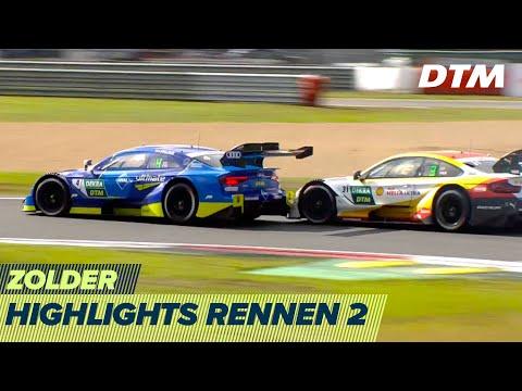 DTM ゾルダー・サーキット(ベルギー) 2020 Rennen2 ハイライト動画