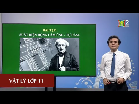 MÔN VẬT LÝ - LỚP 11 | BÀI TẬP: SUẤT ĐIỆN ĐỘNG CẢM ỨNG - TỰ CẢM | 15H45 NGÀY 17.04.2020 | HANOITV