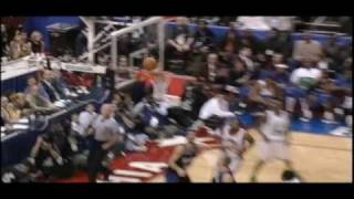 All Star Tracy McGrady - Alley Oop Slam From Himself Vs The West (02/10/02)