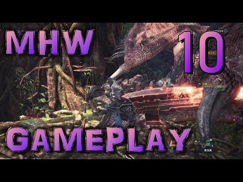 【MHW】魔物獵人:世界 | Gameplay #10:火之龍,利奧雷烏斯