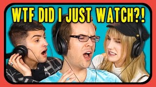 YOUTUBERS REACT TO WTF DID I JUST WATCH COMPILATION #2 | Kholo.pk