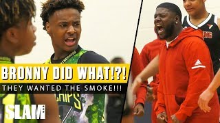 Bronny James HEATED BATTLE with Trae Young's Team?! 😤