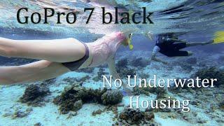 GoPro Hero 7 black, No Underwater Housing