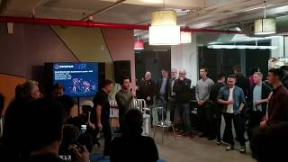 Cardano Meetup in NYC with SOSV dLab and EMURGO
