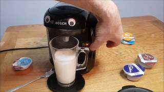 Brilliant One Button Coffee Machine - Bosch Tassimo Review