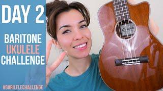How to Tune a Baritone Ukulele #BARILELECHALLENGE DAY 2