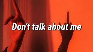 Paloma Mami   Don't Talk About Me 😈 (Traducida Al Español) (Letra)