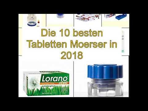 Die 10 besten Tabletten Moerser in 2018