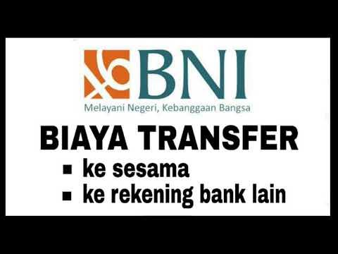 Biaya Transfer Bank BNI ke BNI