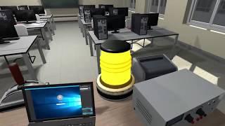 Разработка VR комнат для обучения. VR Classroom