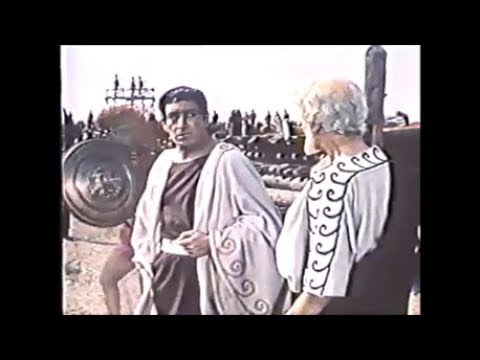Troy, ca. 1200 BC: King Priam entreats Achilles to release Hector's body