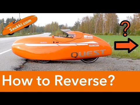 What is a Velomobile and How do You Reverse in it?