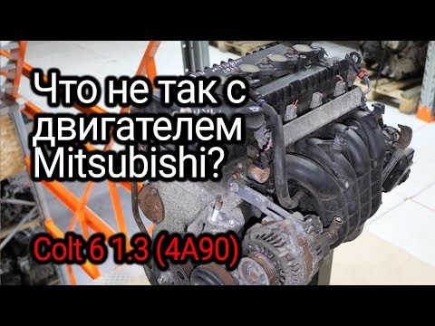 Фото к видео: Почему двигатели Mitsubishi семейства 4A9 расходуют масло?