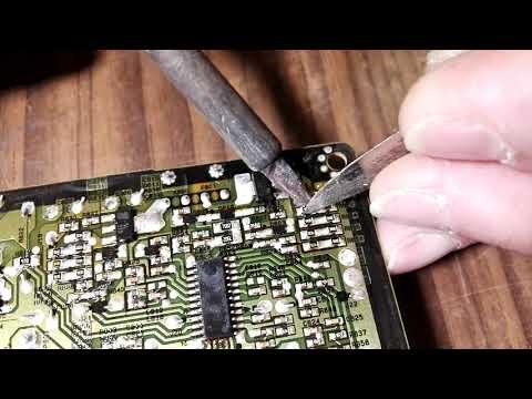 Доработка (ограничение тока подсветки) EAX64881301 3PCR00107A LGP32-13PL2 PLDC-L231A