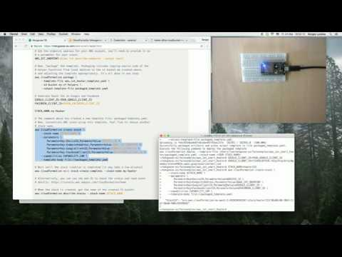 Smart Heater Project - CloudFormation error: Uploaded file must be a