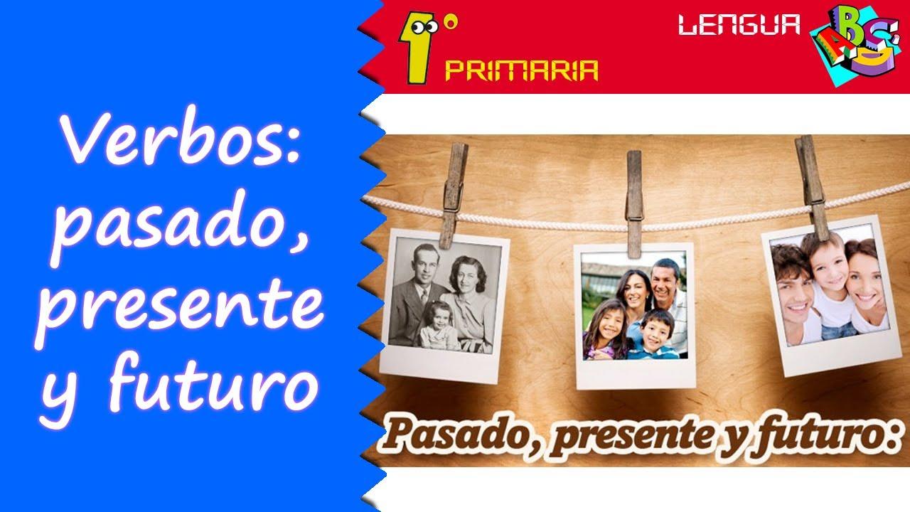 Lengua Castellana. 1º Primaria. Tema 11: Presente, pasado, futuro