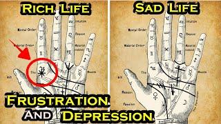 KAHULUGAN NG GUHIT NG FRUSTRATION AT DEPRESSION SA PALAD- ALAMIN KUNG MERON KA NITO