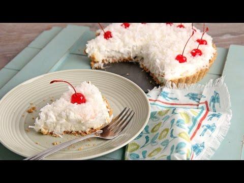 No-Bake Pina Colada Cheesecake Tart – Laura Vitale – Laura in the Kitchen Episode 1074