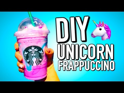 DIY Starbucks Unicorn Frappuccino (that doesn't taste gross!)