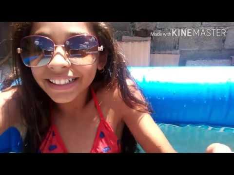 Desafio da piscina 🌅💞👏