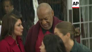 Various file video and images of Bill Cosby throughout his career