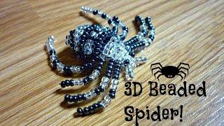 DIY 3D Beaded Spider ¦ The Corner Of Craft