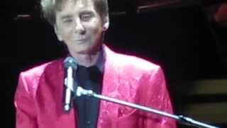 Barry Manilow O2 Arena 26th May 2014 Memory