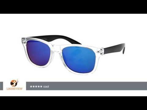 Farbige Retro Kinder Sonnenbrille Viper verspiegelt von Alsino | Erfahrungsbericht/Review/Test