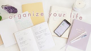 How to Be More Organized & Productive | 10 Habits for Life Organization