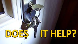 Does it Help to leave your Keys inside of the Door?