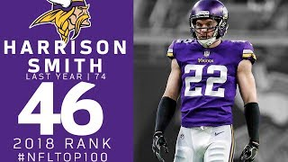 #46: Harrison Smith (S, Vikings) | Top 100 Players of 2018 | NFL