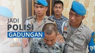 Polisi Gadungan Berhasil Menipu dan Memeras Pacar, Mengaku Anggota Intel Polda Sumsel