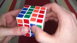 how to solve a 4x4 rubiks cube corner parity - ฟรีวิดีโอออนไลน์ - ดู