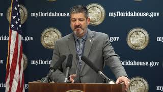 FULL: 1.16.2018 Rep. Bob Cortes Press Conference on the Death Penalty, State Attorney Ayala, and the
