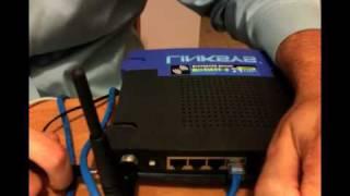 Installing DD-WRT on a Linksys WRT54G v2 Router