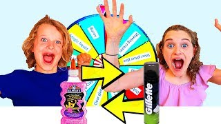 MYSTERY WHEEL OF SLIME SWITCH UP Challenge Ft The Norris Nuts