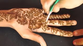New Stylish Simple Easy Mehndi Henna Designs For Beginners Free