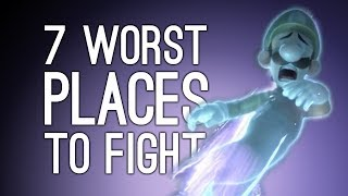 7 Worst Places to Have a Fight in Fighting Game History