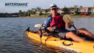 Revolutionary New Watersnake Motor & Kayak Bracket Combo