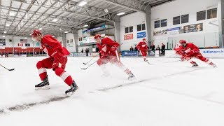 INSIDE LOOK at RED WINGS ROOKIE CAMP