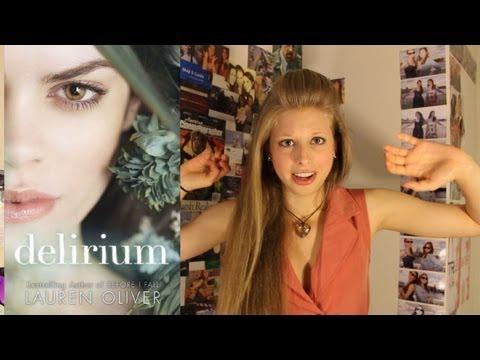 DELIRIUM BY LAUREN OLIVER: booktalk with XTINEMAY