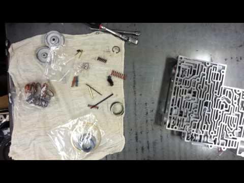 Project 4L60E part 2 lesson 9