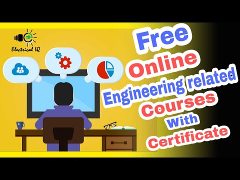 Free online courses with certificate for engineering students - YouTube